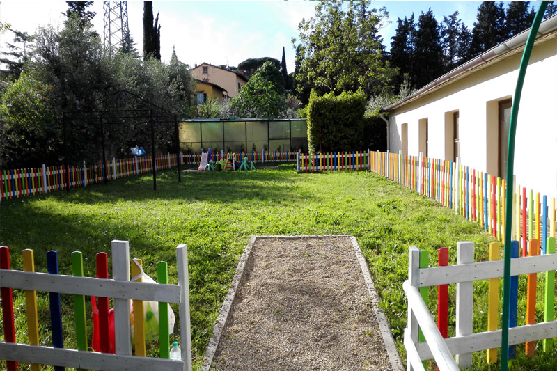 Giardino dedicato ai piccoli del Nido